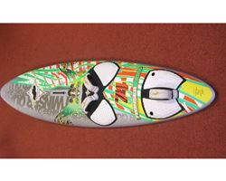 JP Australia Jp Twister Quad With A-Base Fin Box,S 79 litre 229 cm windsurfing board