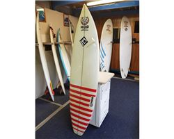 "Hog Custom Square Tail Thruster 6' 4"" surfing shortboards (under 7')"