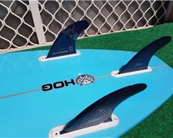 "Hog Custom Square Tail Thruster 6' 0"" surfing shortboards (under 7')"