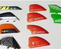 Naish And North Twin Tip Fins kitesurfing accessorie