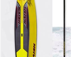 "Naish Javelin 24 inches 12' 6"" stand up paddle racing & downwind board"