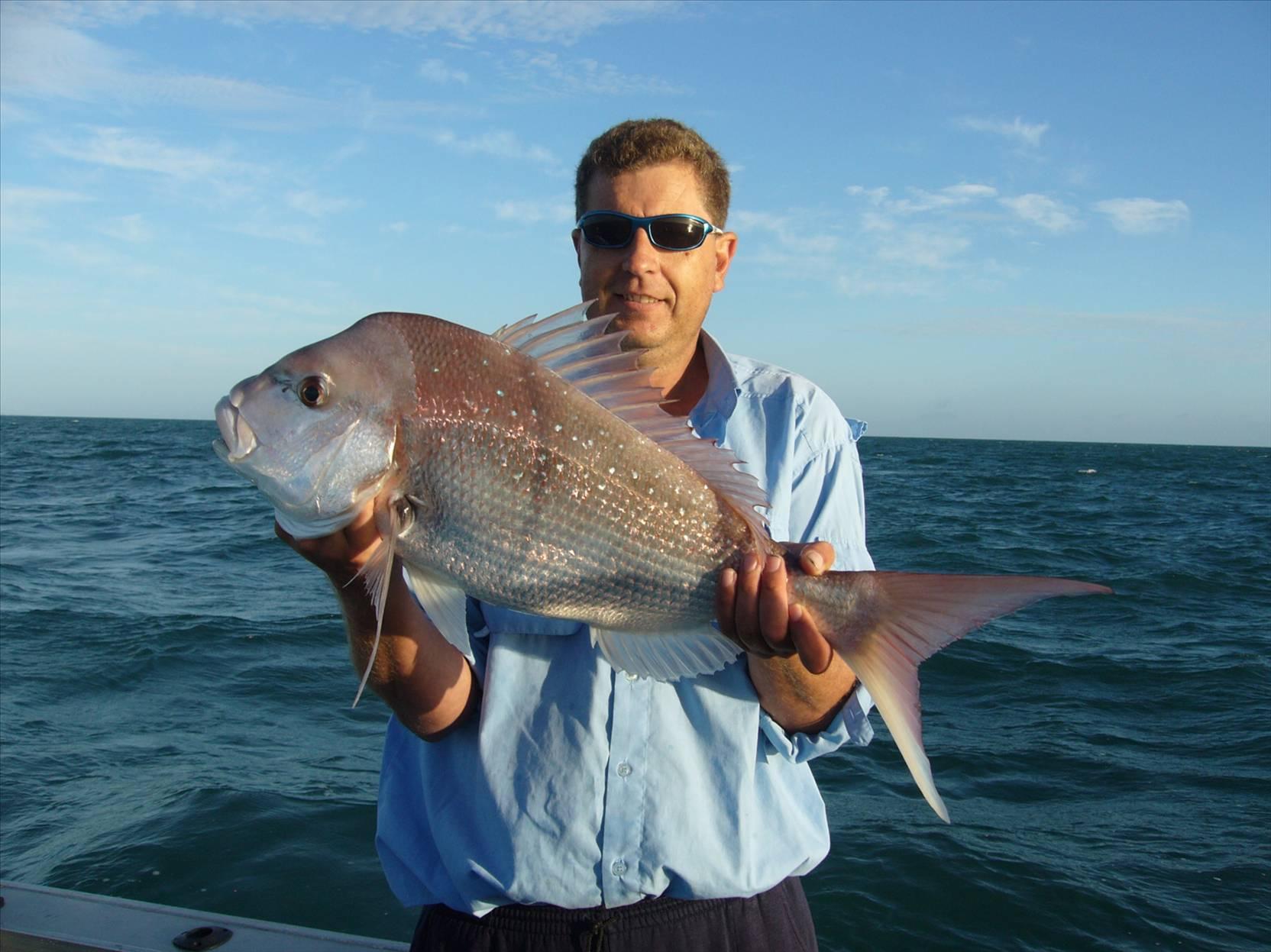 Fishing Moreton Bay Snapper
