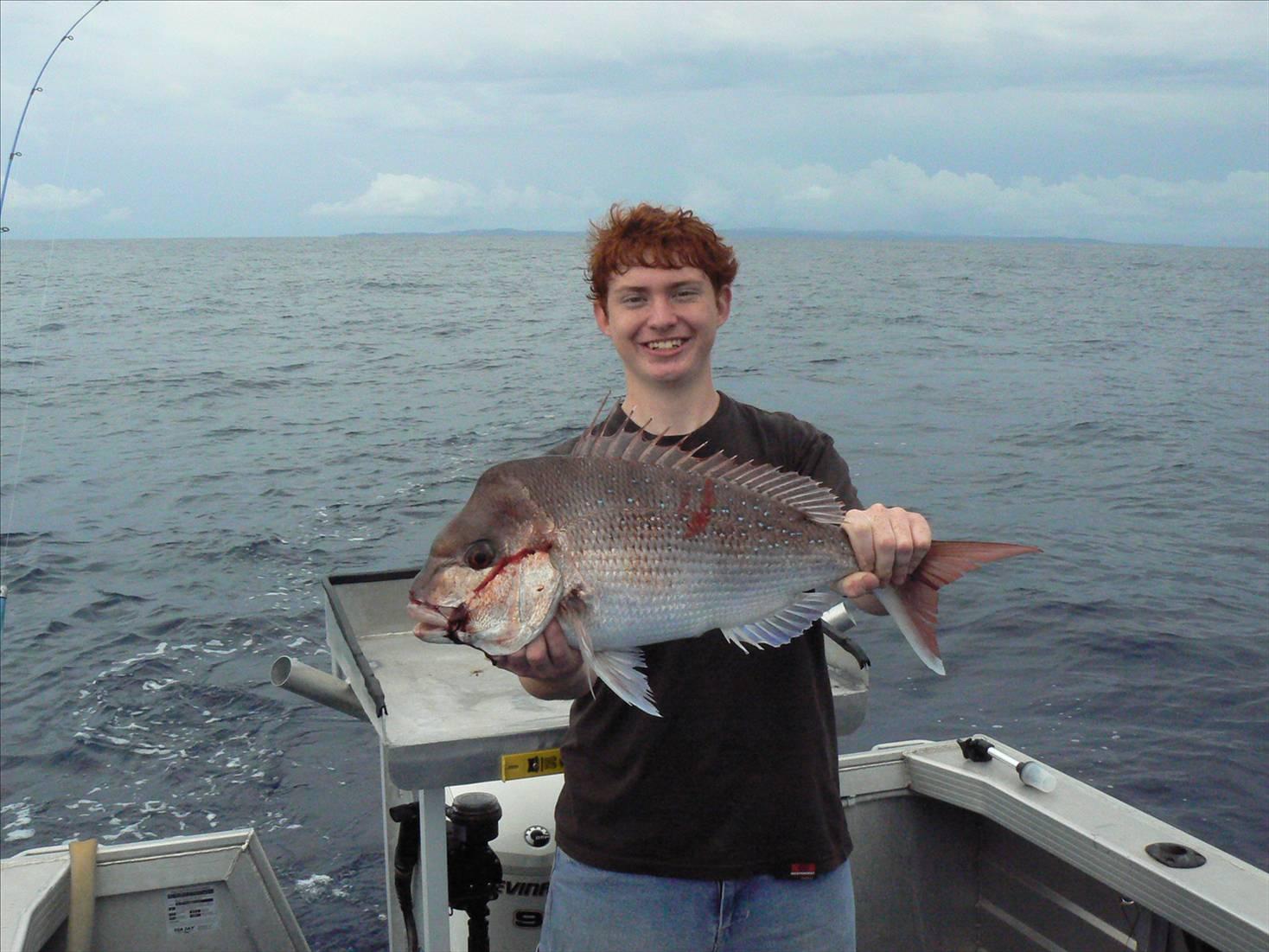 Fishing King Island Moreton Bay