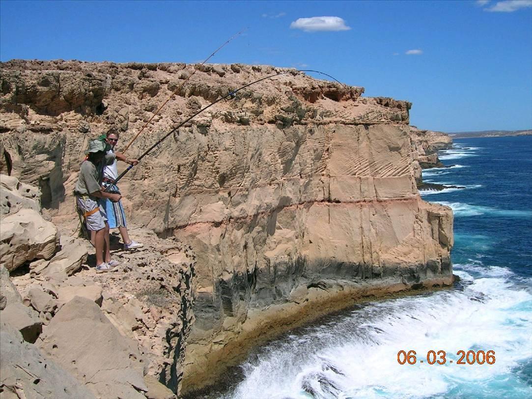 Fishing steep point ma...