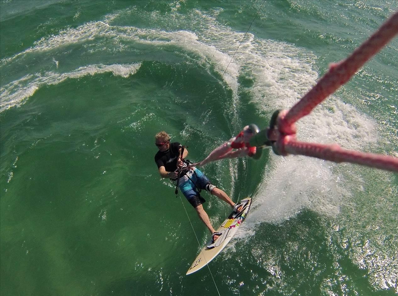 Kitesurfing Gopro Line Moune Photo