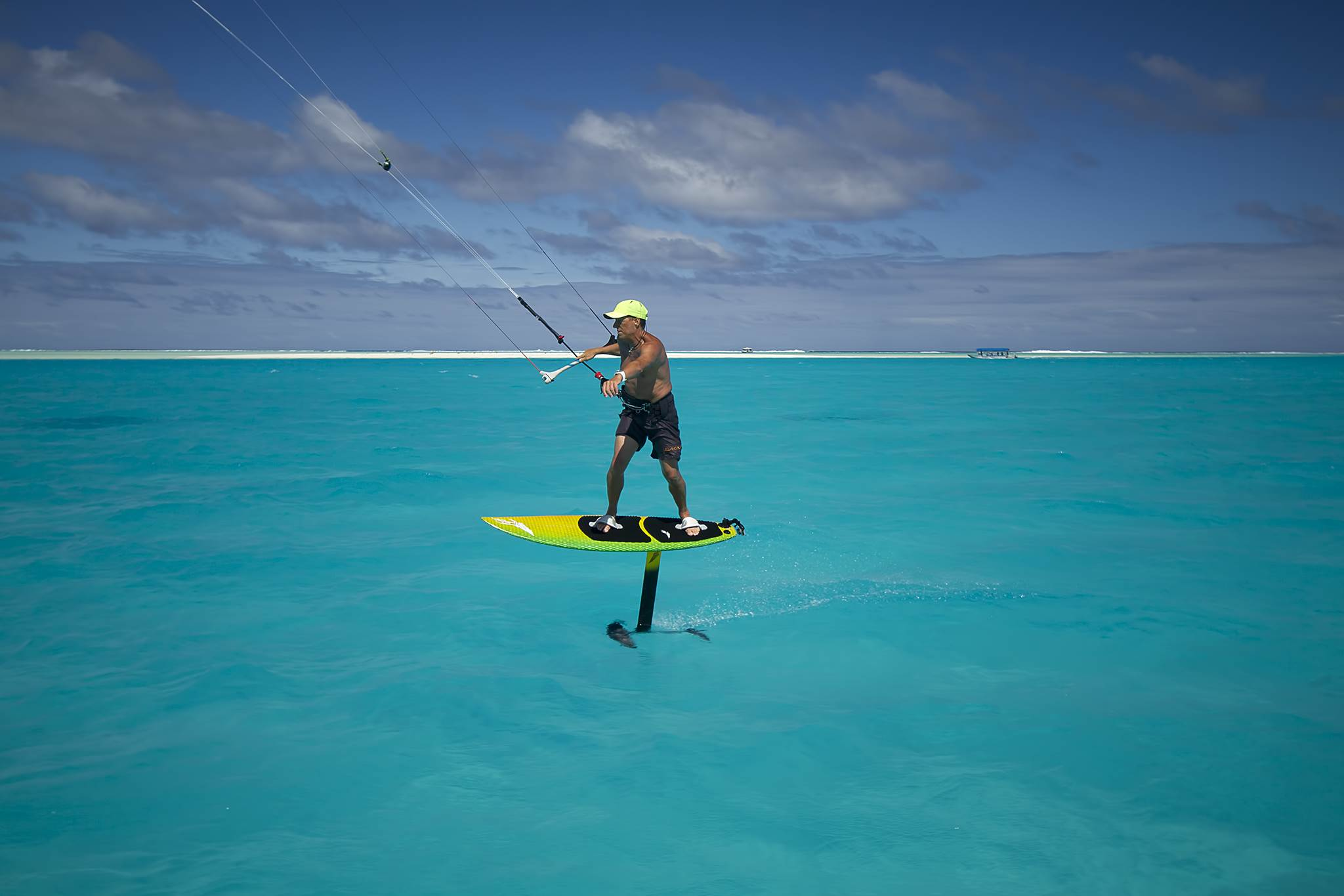 Cook Islands Kitesurfing Season