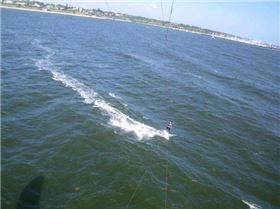Kitesurfing at Hampton