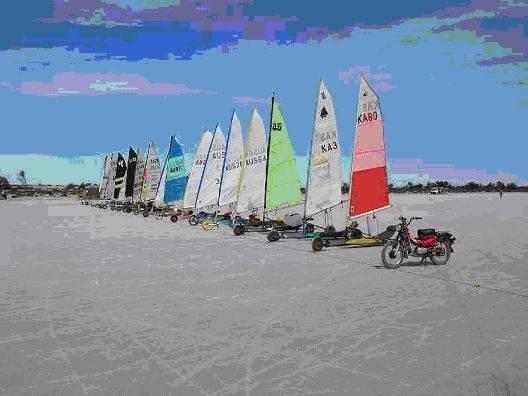 Land yachting lake gilles land sailing