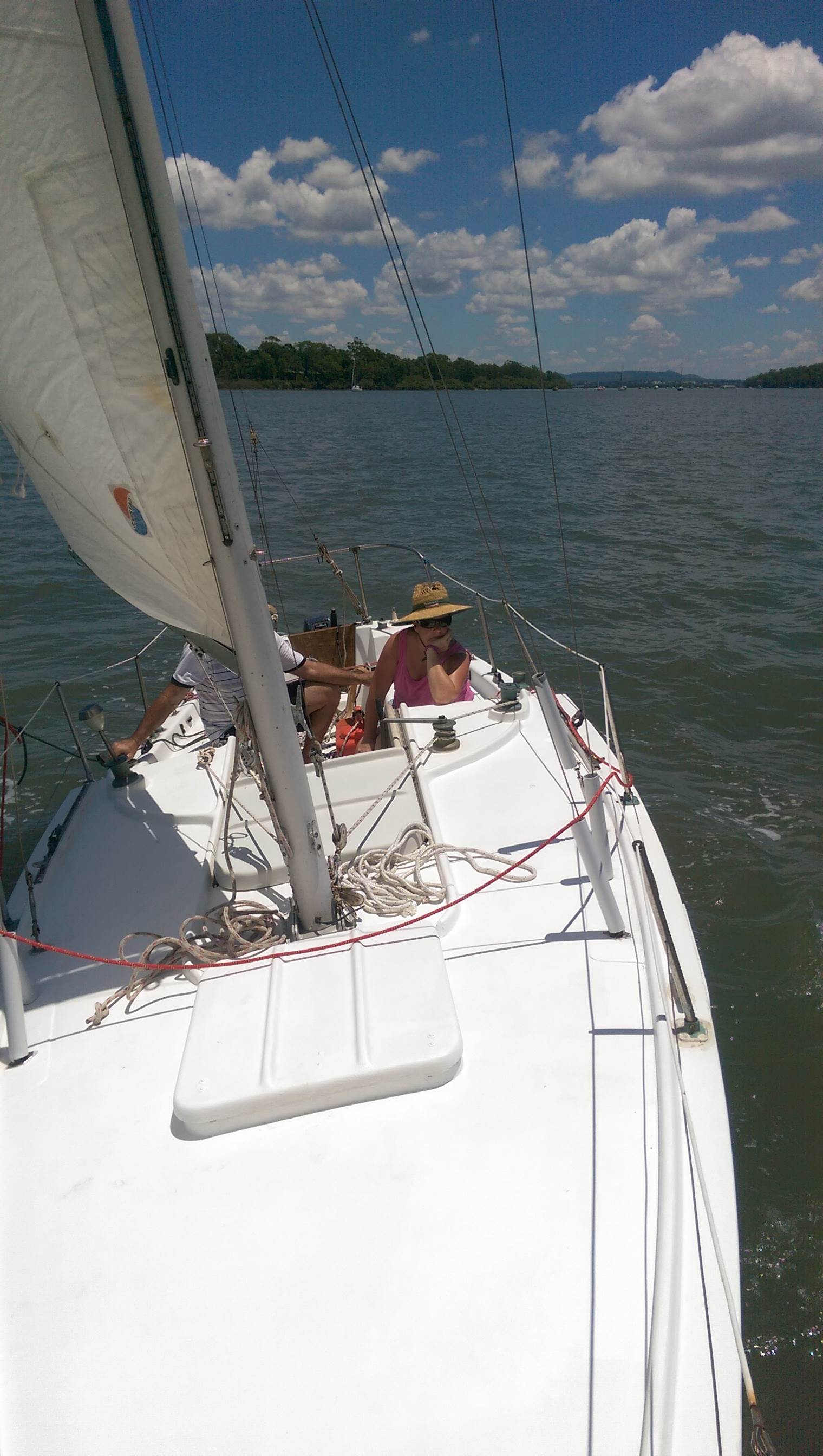Where Did You Go On Your Sailing Boat Today?