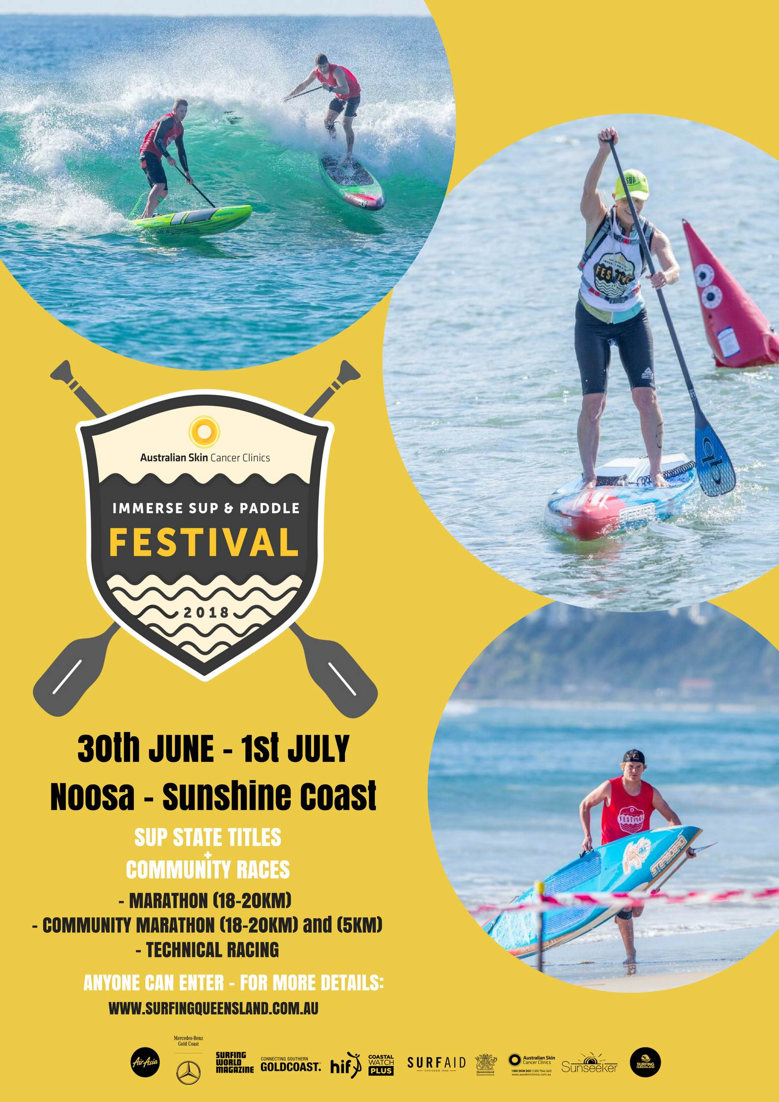 Stand Up Paddle Immerse Sup And Paddle Festival in Sunshine Coast
