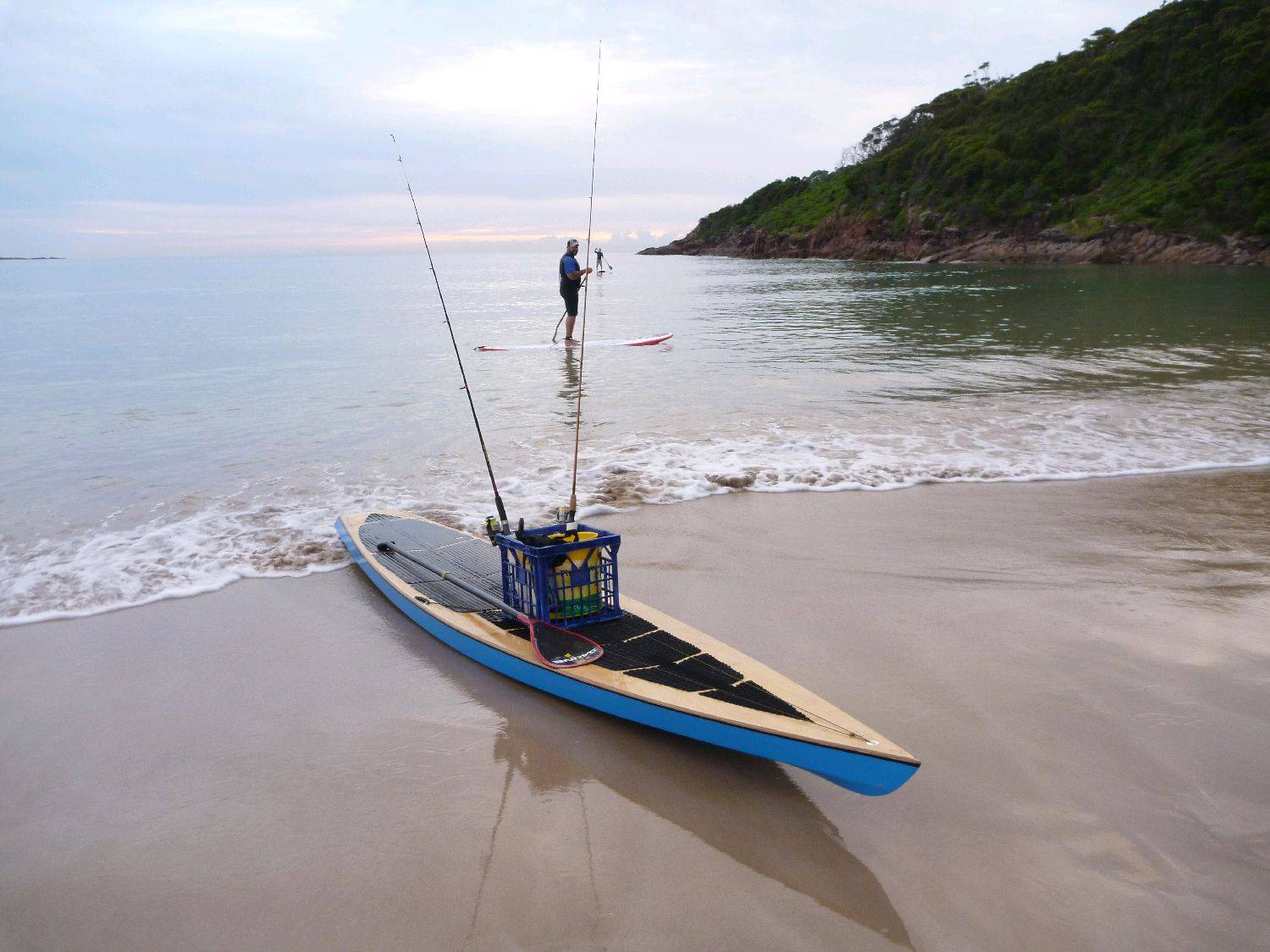 Kaholo build log stand up paddle forums page 1 for Sup fishing board