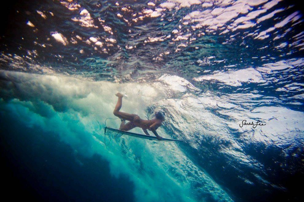 девушка океан фото