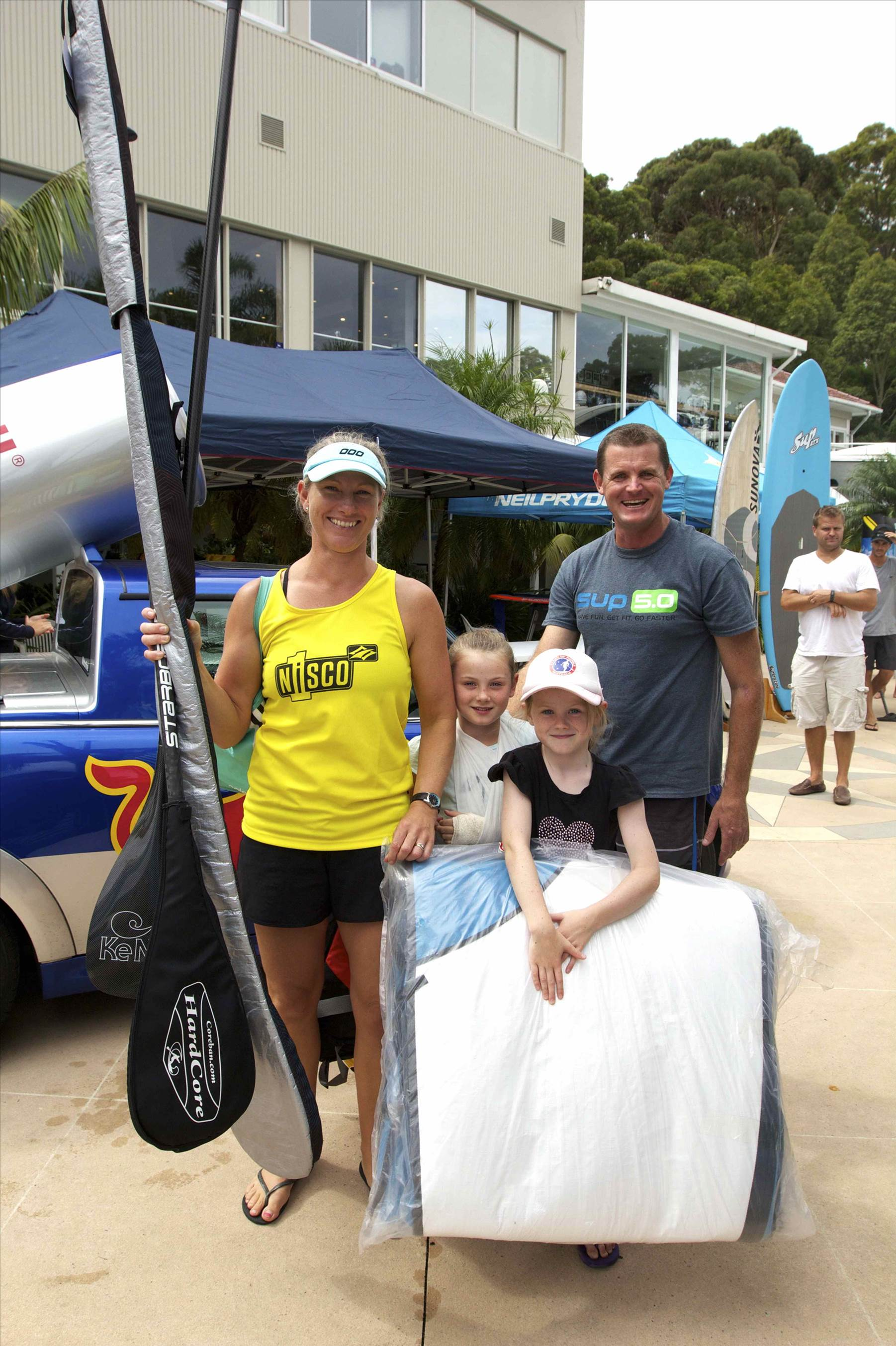 Sydney Sup Festival And Scotland Island Race Pics Stand