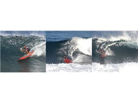 Blane Chambers of Paddle Surf Hawaii doing what he does best - ripping it up