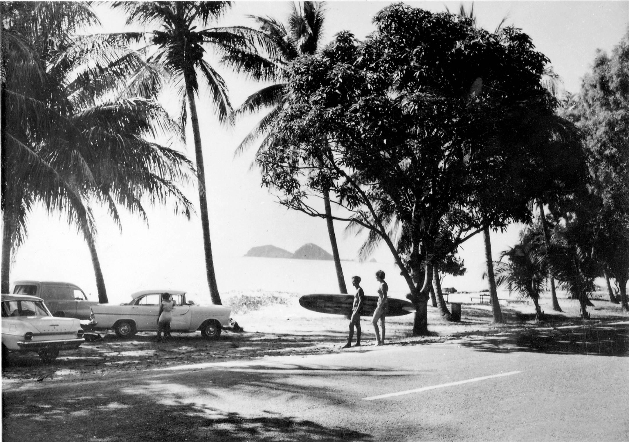 surfing ellis beach north cairns 1965 photo. Black Bedroom Furniture Sets. Home Design Ideas