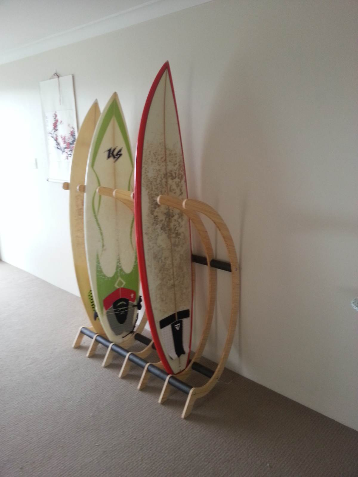 Freestanding surfboard rack | Surfing Forums, page 1