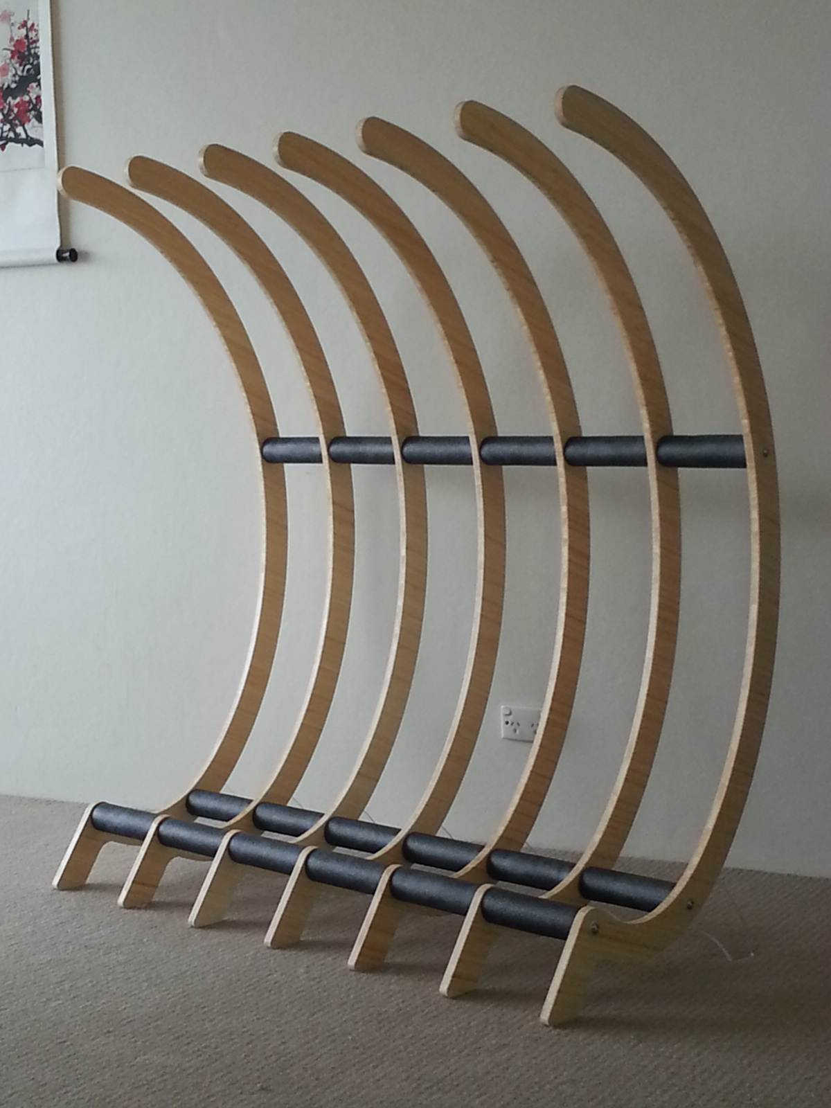 Freestanding Surfboard Rack Surfing Forums Page 1