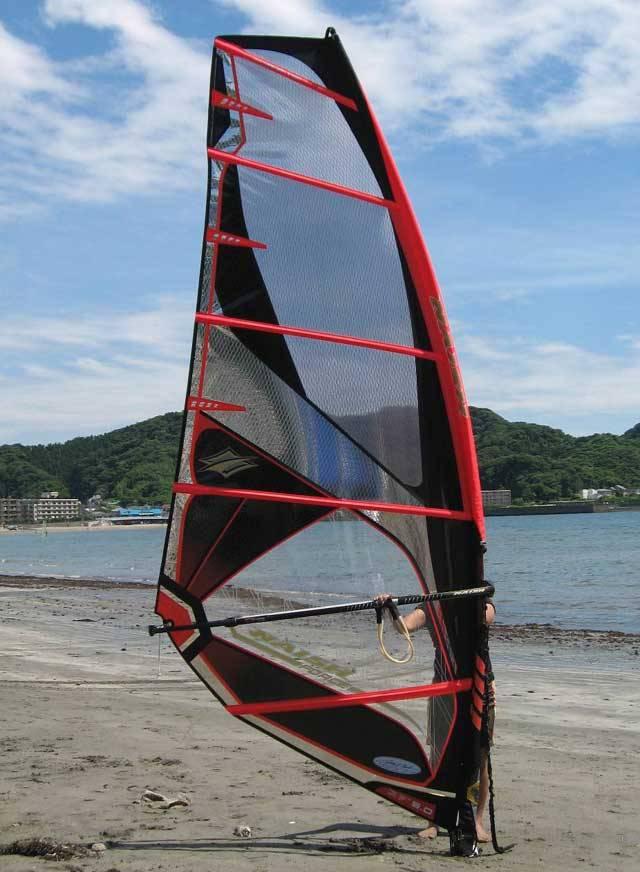 Windsurfing My Newby Naish Force Photo