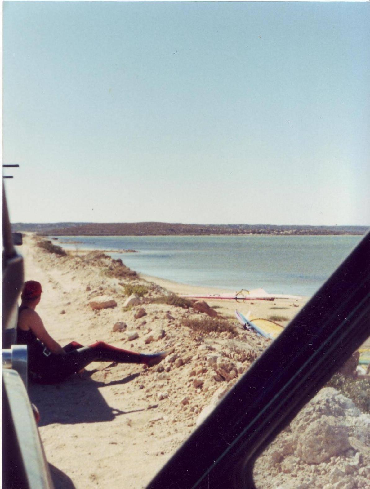 Shark Bay Salt Pty Ltd wa Salt Ponds Shark Bay wa