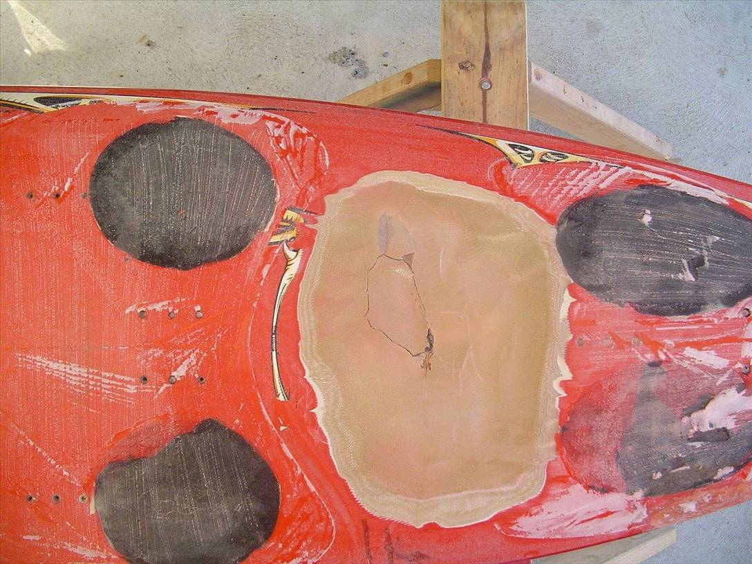 Creased board?   Windsurfing Forums, page 1