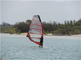 Sail around Goat Island