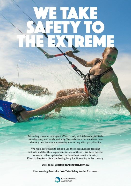 Kiteboarding Australia - Taking Safety To The Extreme