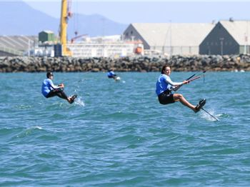 Kitefoiling Championships at Sail Melbourne - Kitesurfing News