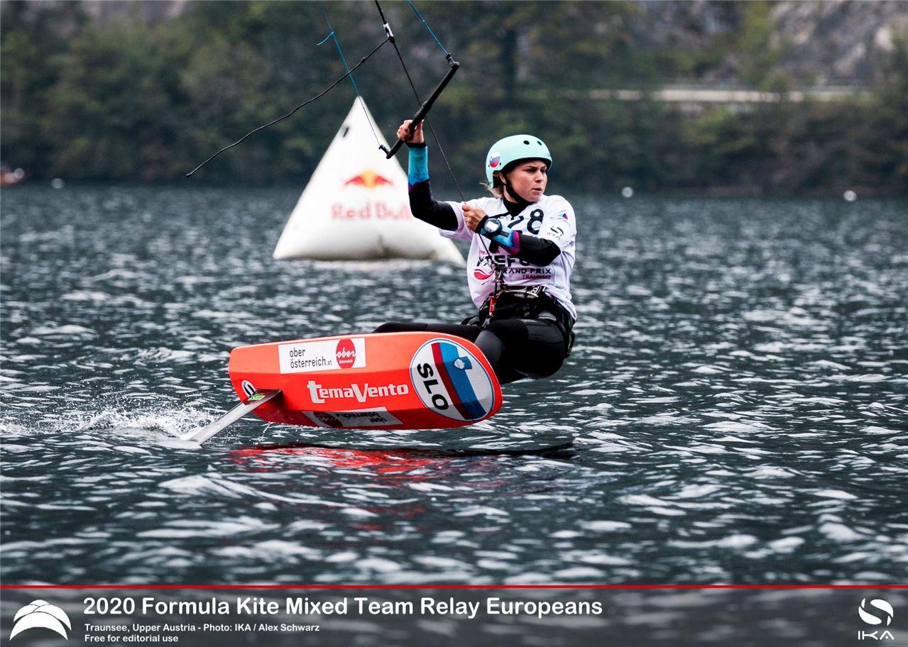 Kitefoil racing in Austria
