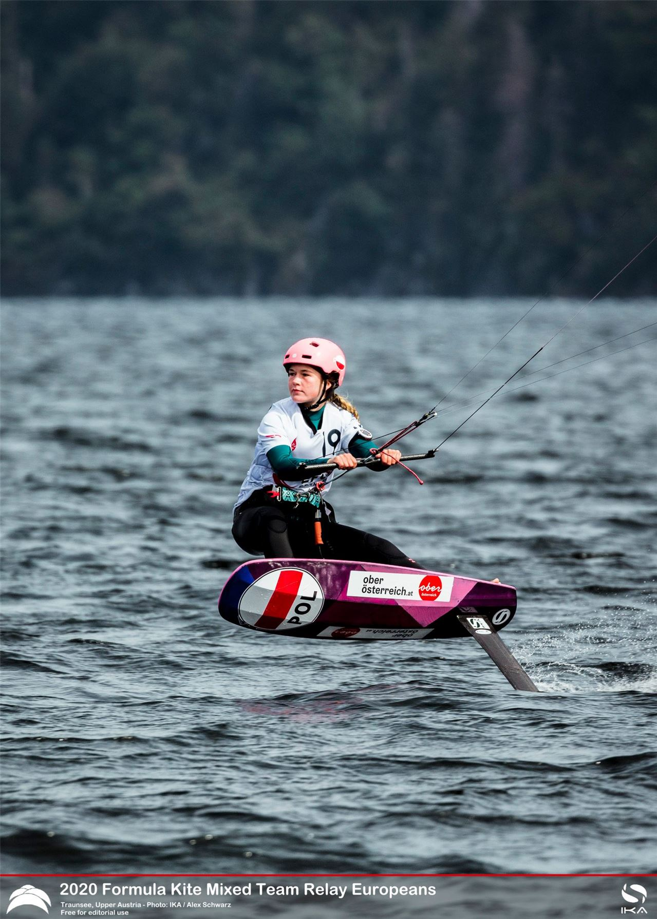 Kitefoil Racing - Relaxed Race Face!?