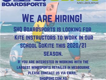 Want teach kitesurfing in Victoria? - Kitesurfing News