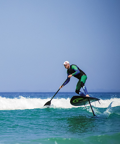 how to stand up paddle board on flat water