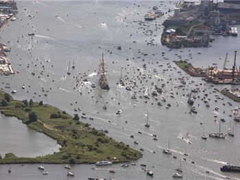 Thousands of boats - one  - SAIL 2015 - Power Boats News