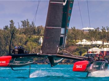 An Inside Look into Flying Catamarans at the Americas Cup - Sailing News