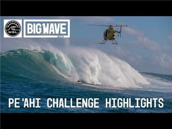 The first ever Pe'ahi Challenge may never be topped. - Surfing News