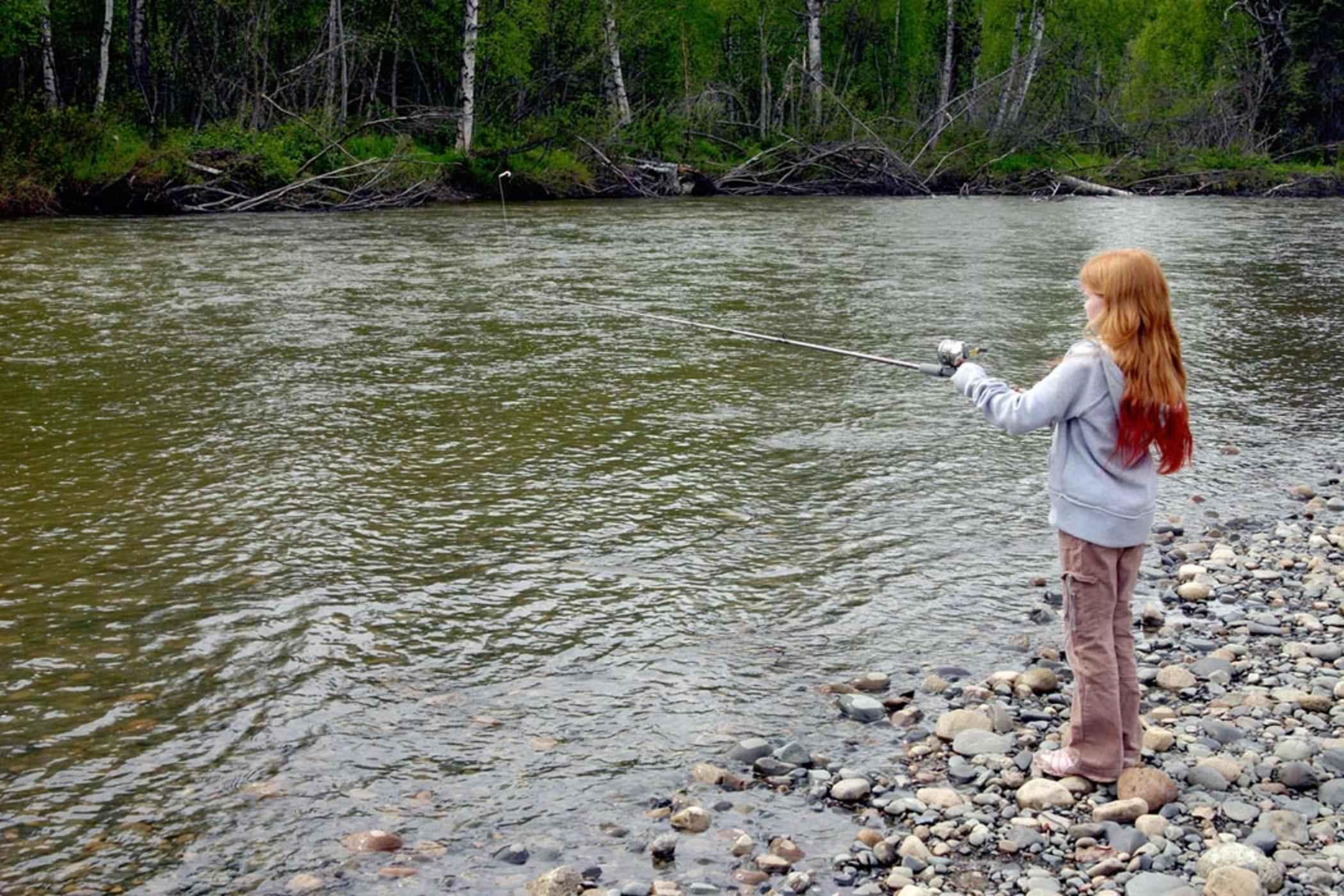 More girls go fishing in south australia seabreeze for Girls gone fishing