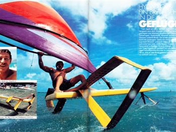 Rewind 30 years, and windsurfers were foiling! - Windsurfing News