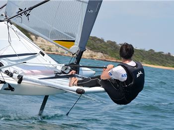 Get into foiling on a budget! Waszp Moth cheaper than Laser! - Sailing News