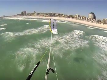 Watch an Insane Megaloop from Akkers Eye View - Kitesurfing News