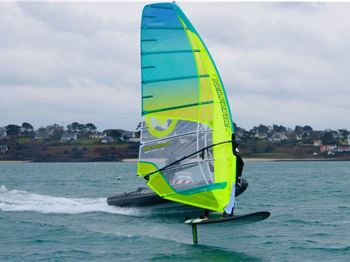RS:X Convertible Hydrofoil Begins Testing - Windsurfing News