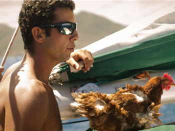 Man sailing around the world with his pet CHICKEN! - Sailing News