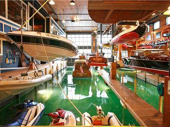 Look Inside a $10 Million Boat House and Lakeside Mansion - Power Boats News