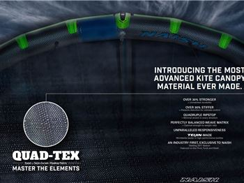 Quad-Tex - Naish releases Quadrupal Ripstop for less tears! - Kitesurfing News