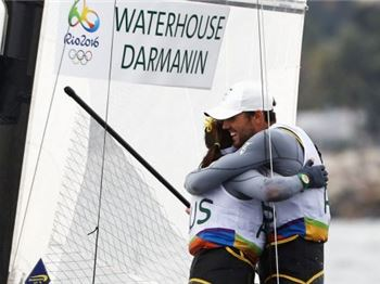 Gold. Silver and Jib Only Racing in Rio! - Sailing News