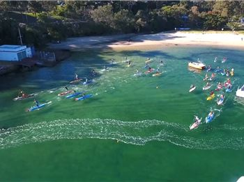 Balmoral SUP X Delivers the Perfect Weekend Race - Stand Up Paddle News