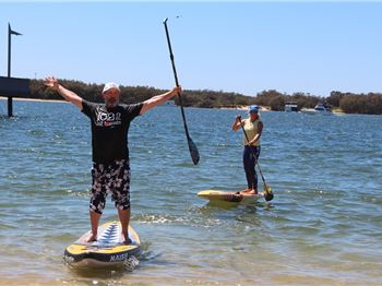Paddling ski and SUP making waves on the Gold Coast - Stand Up Paddle News