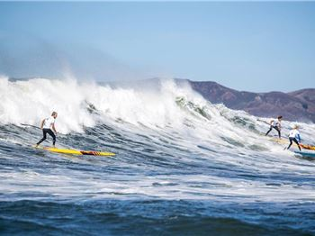 Heavy Weather in San Fran - Connor Earns 20k! - Stand Up Paddle News