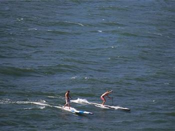 Make Good decisions. Catch More Bumps. Downwind How-To Vid - Stand Up Paddle News