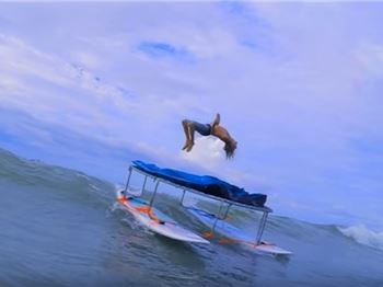 Taking the SUP Backflip to the Next Level - Stand Up Paddle News
