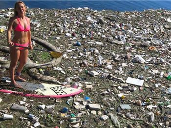 One Persons Rubbish is another Woman's Bikini!
