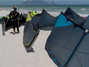 Testing 2018 Naish Kites - In 2016!